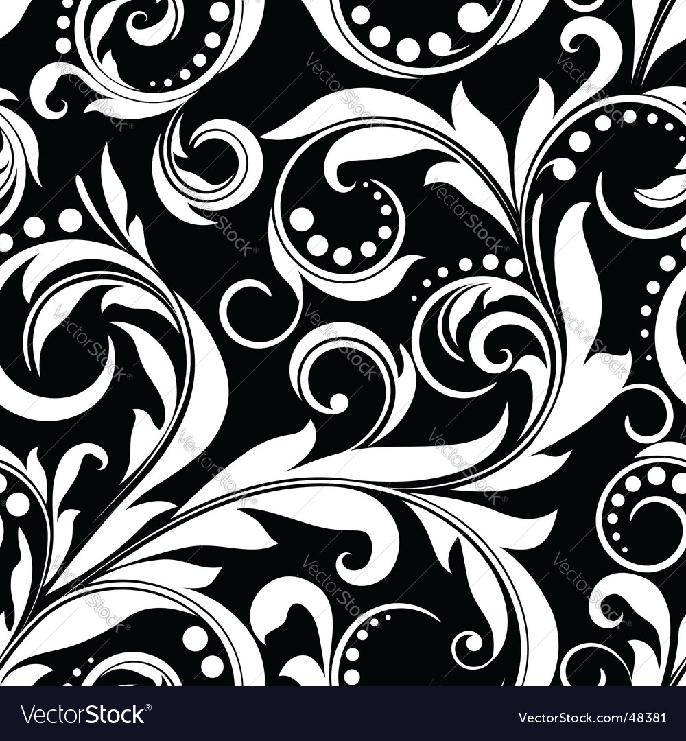 Plant pattern vector | Price: 1 Credit (USD $1)