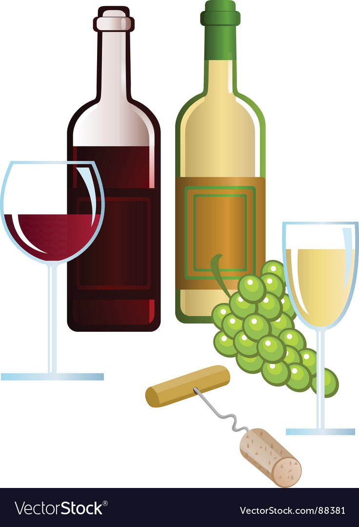 Wine yard vector | Price: 1 Credit (USD $1)