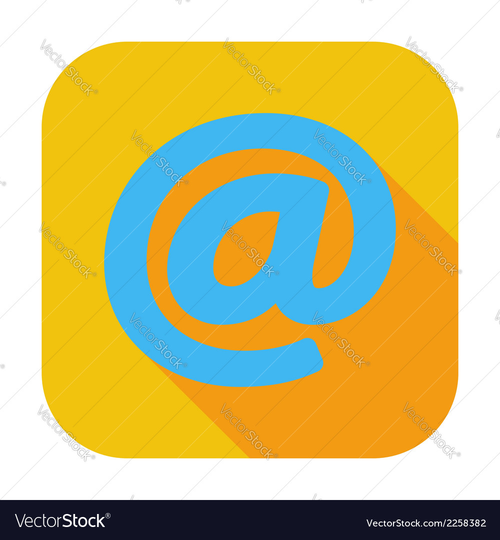 Email single icon vector | Price: 1 Credit (USD $1)