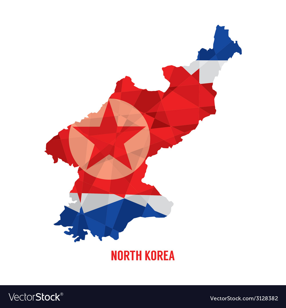 Map of north korea vector | Price: 1 Credit (USD $1)