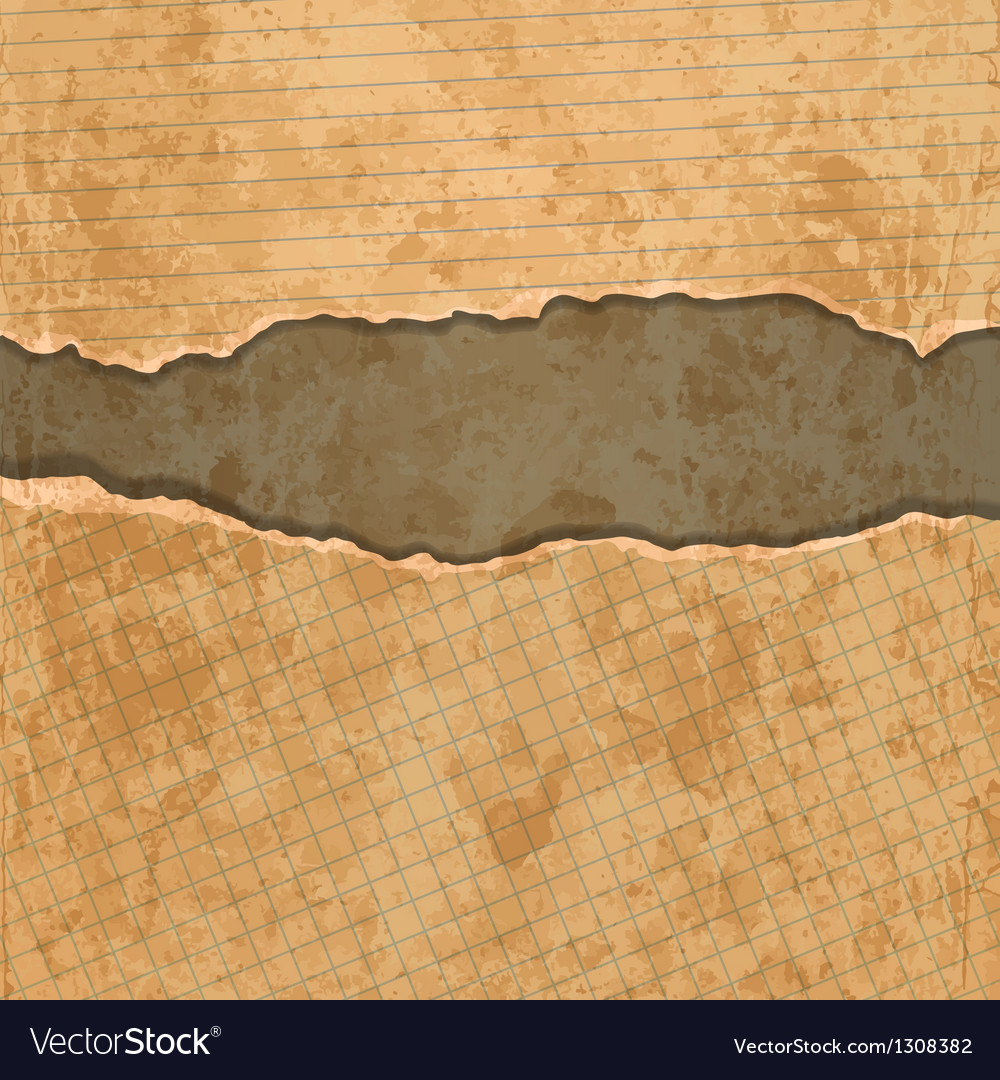Old torn paper set vector | Price: 1 Credit (USD $1)