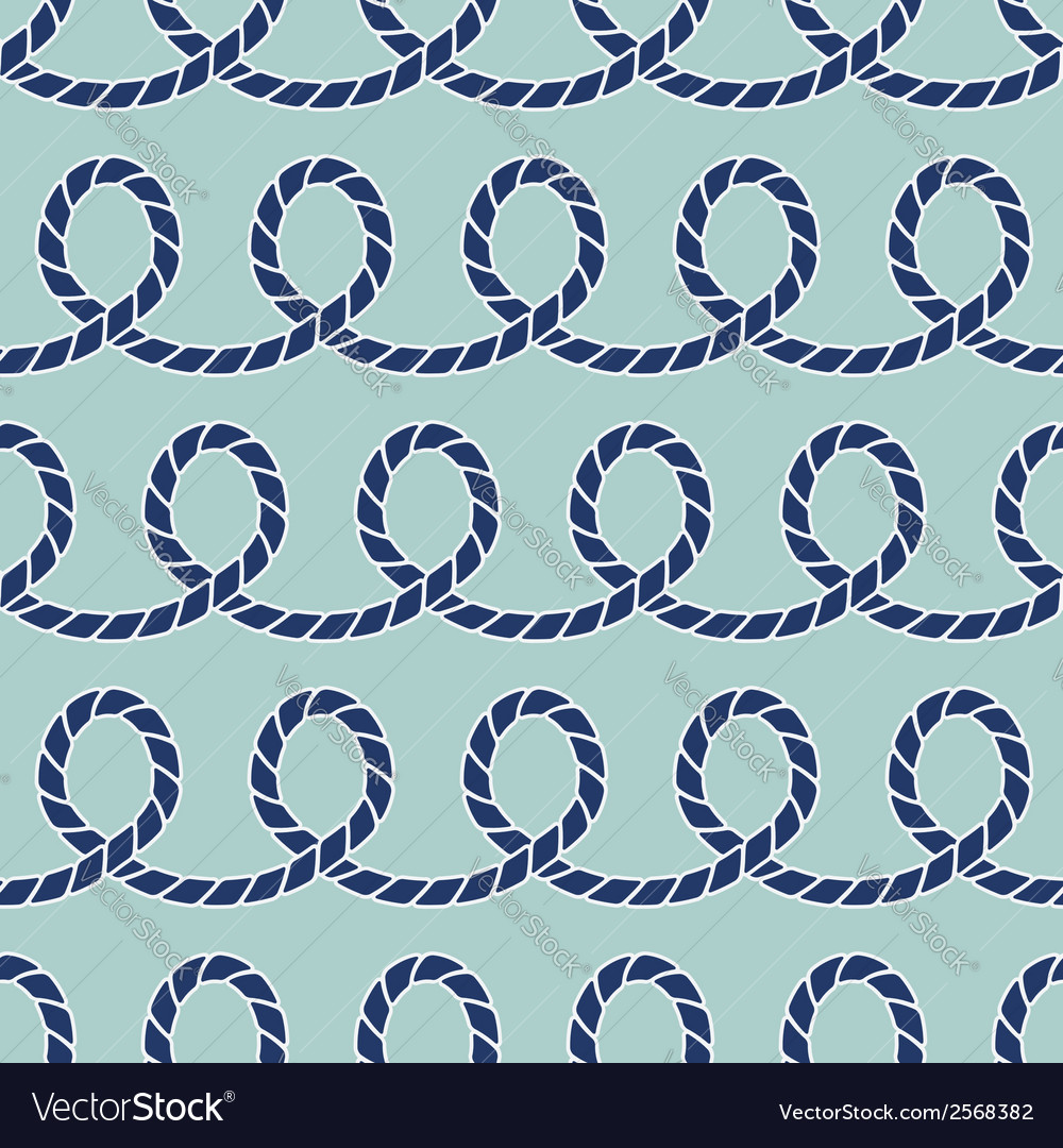 Ropes seamless pattern vector | Price: 1 Credit (USD $1)