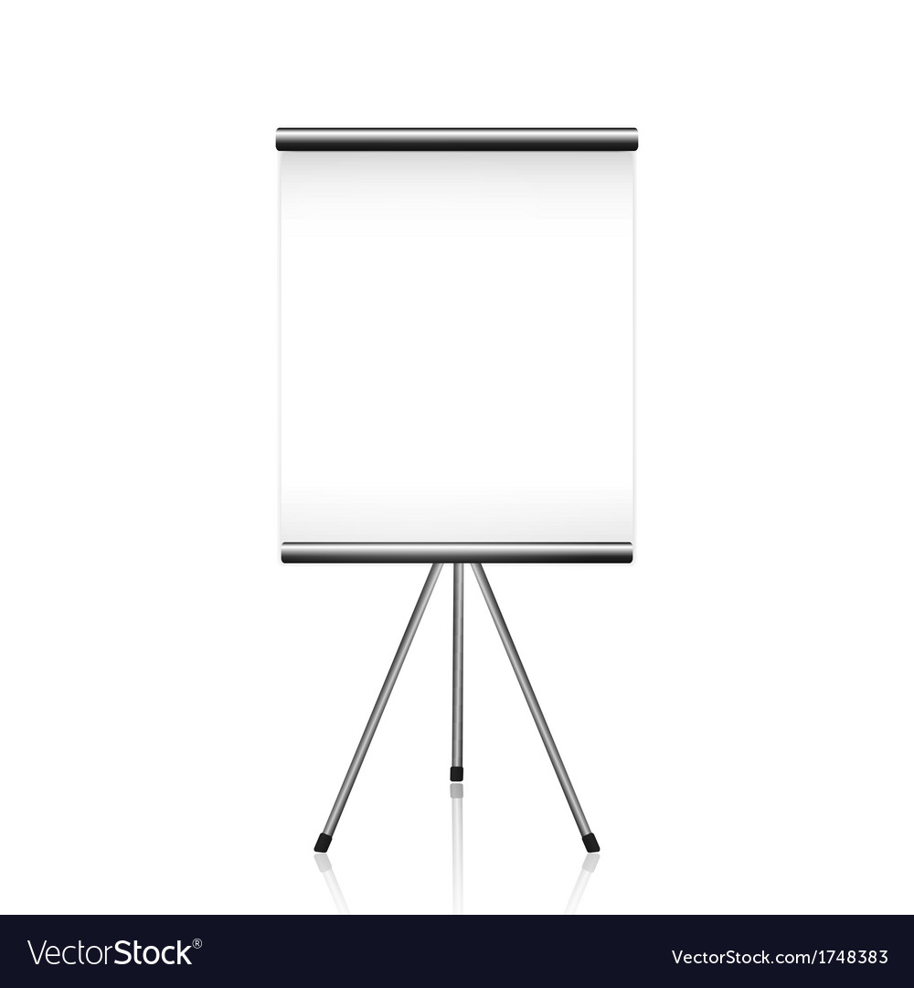 Projector screen tripod vector | Price: 1 Credit (USD $1)