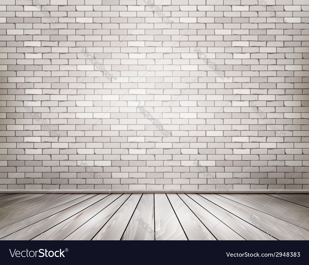 White brick room vector | Price: 1 Credit (USD $1)