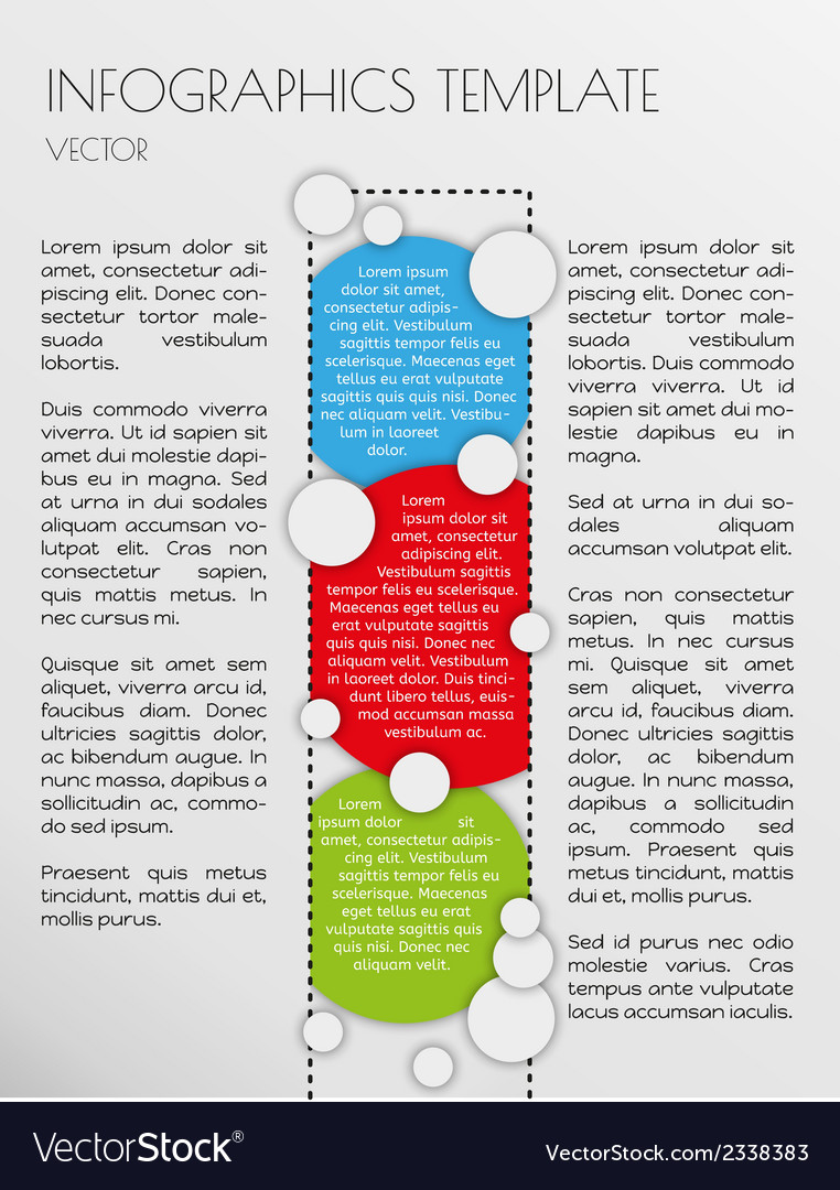 White infographics vector | Price: 1 Credit (USD $1)
