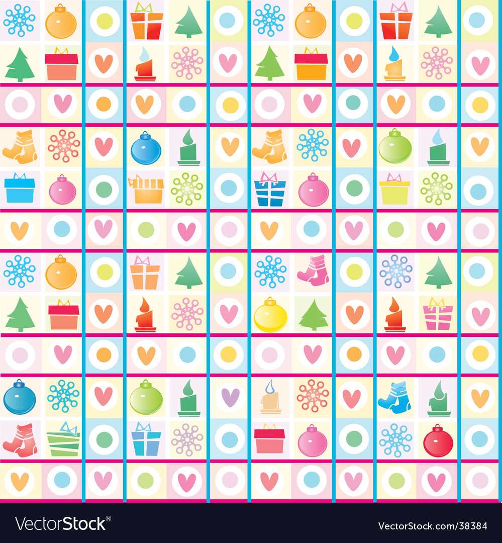 Christmas background wrapping paper vector | Price: 1 Credit (USD $1)