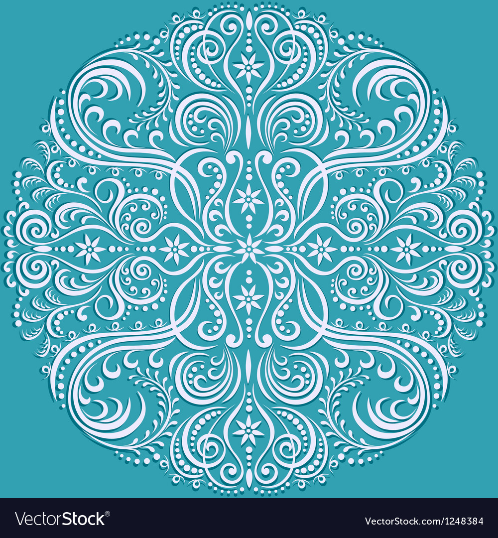 Circle pattern color vector | Price: 1 Credit (USD $1)