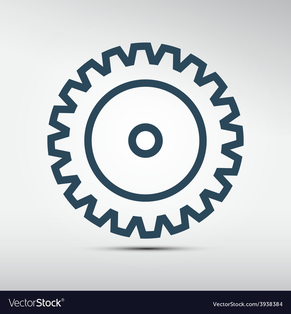 Cog - gear icon vector | Price: 1 Credit (USD $1)