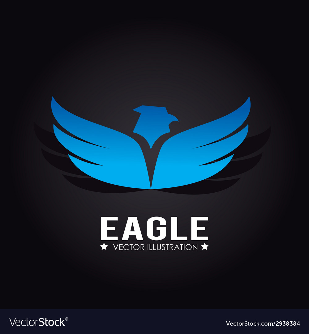 Eagle design vector | Price: 1 Credit (USD $1)