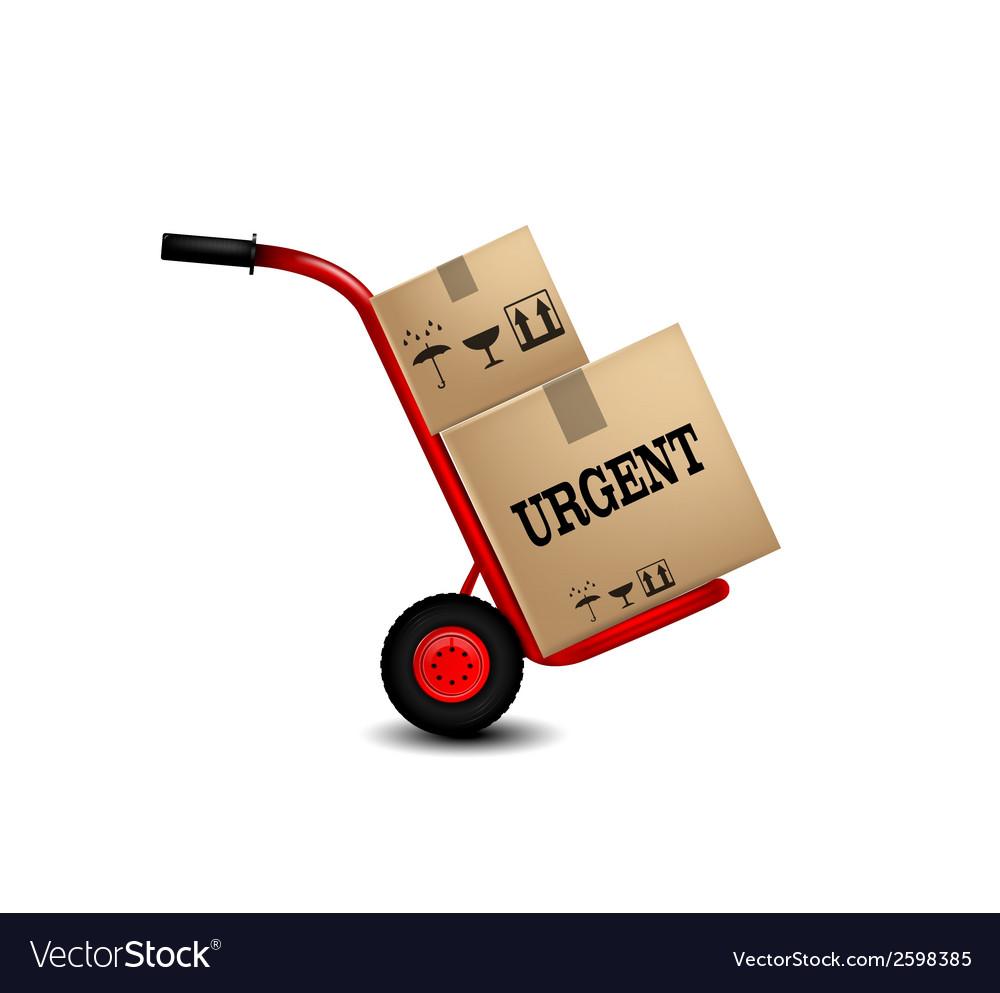 Delivery service icon vector | Price: 1 Credit (USD $1)