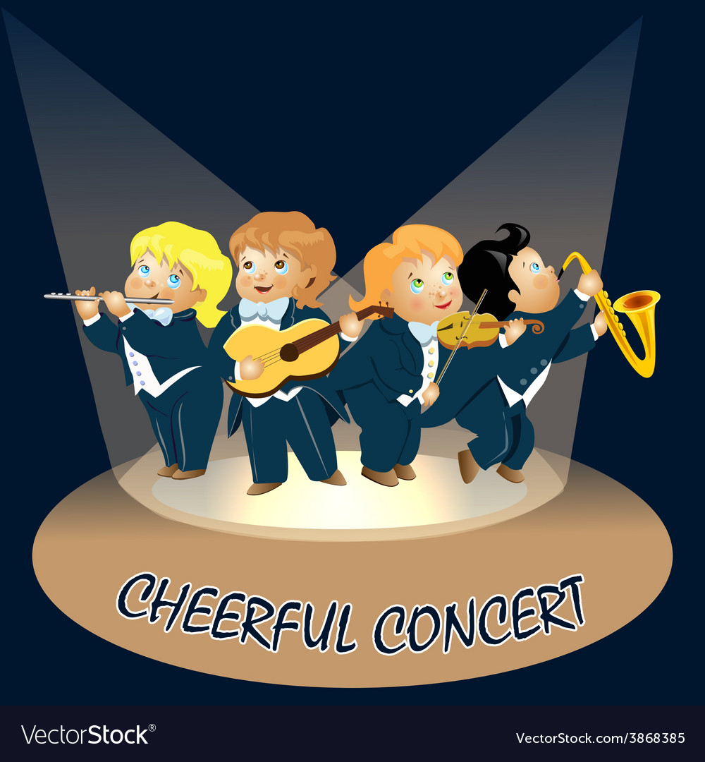 Gay musicians vector | Price: 1 Credit (USD $1)