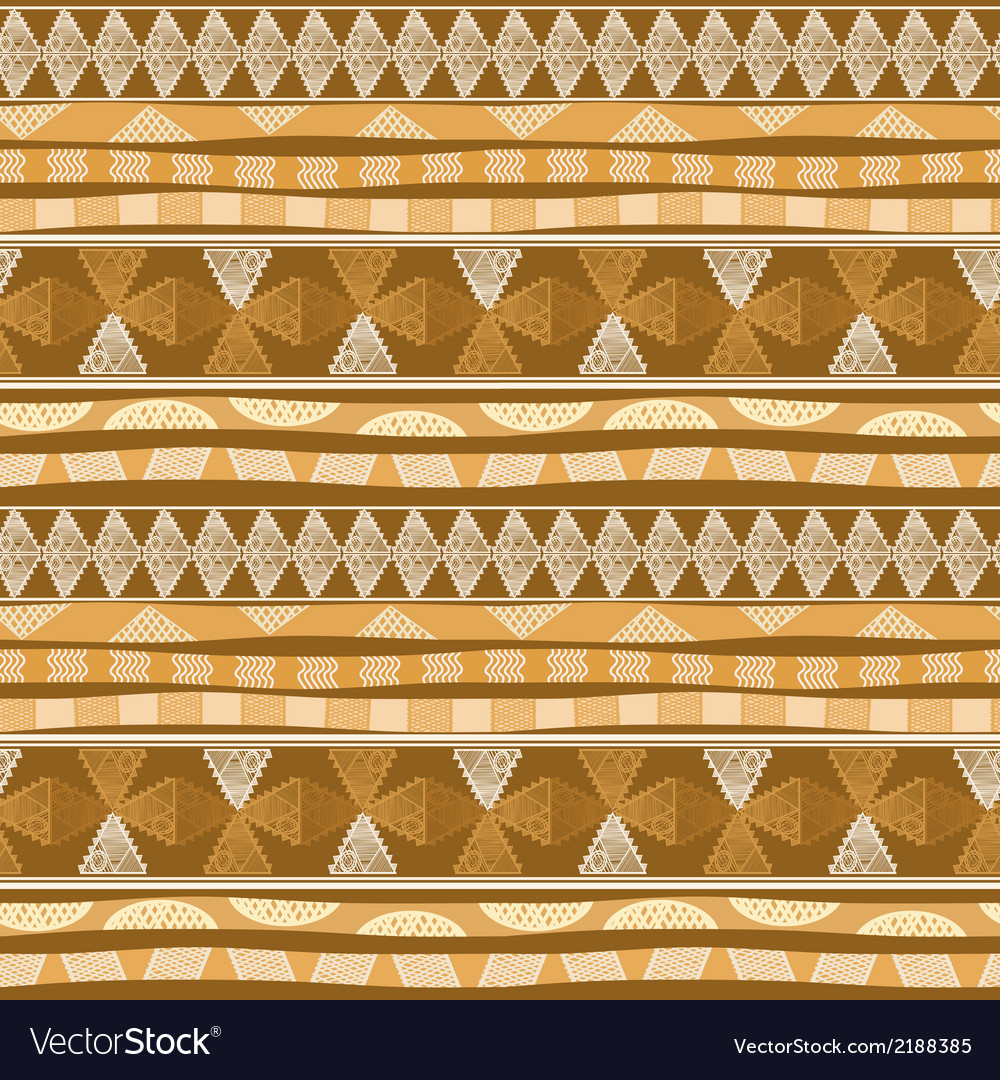 Seamless pattern with mexican design vector | Price: 1 Credit (USD $1)