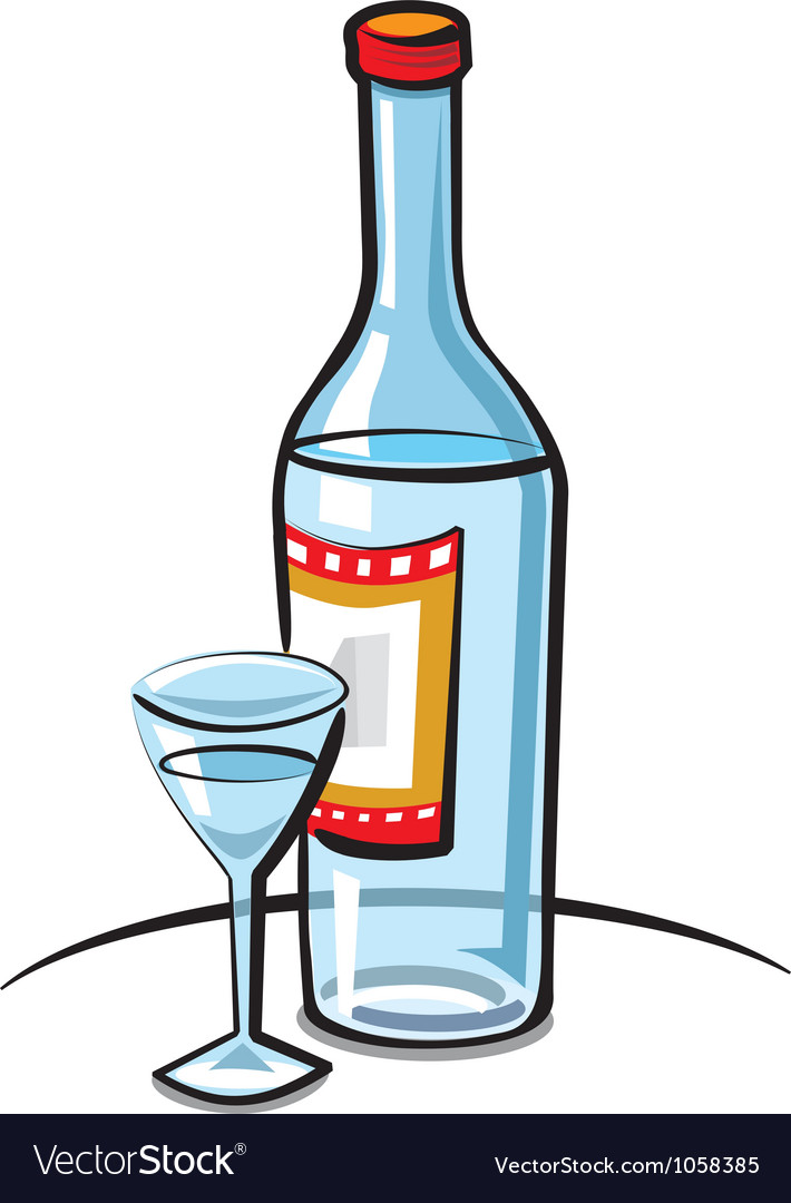 Vodka vector | Price: 3 Credit (USD $3)