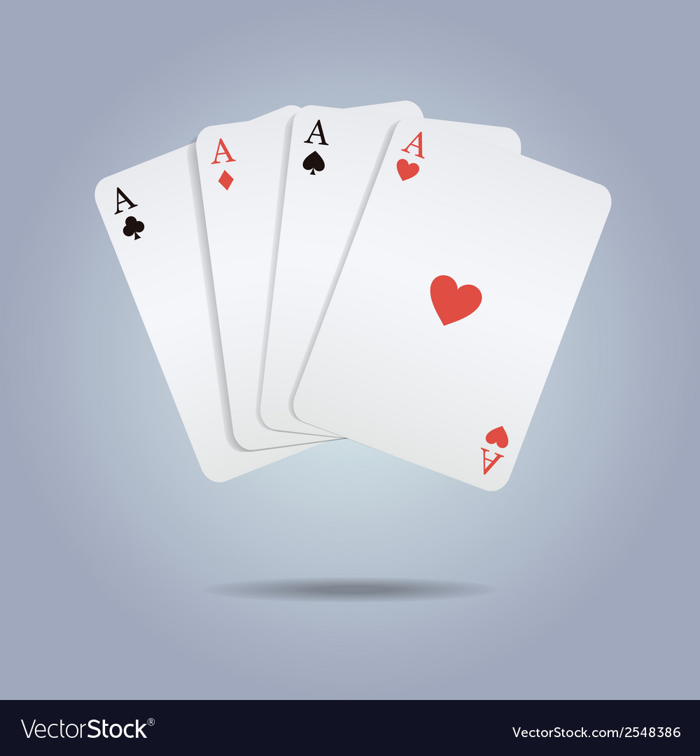 Colorful of playing cards vector | Price: 1 Credit (USD $1)