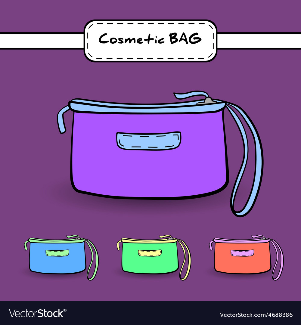 Cosmeticbag vector | Price: 1 Credit (USD $1)