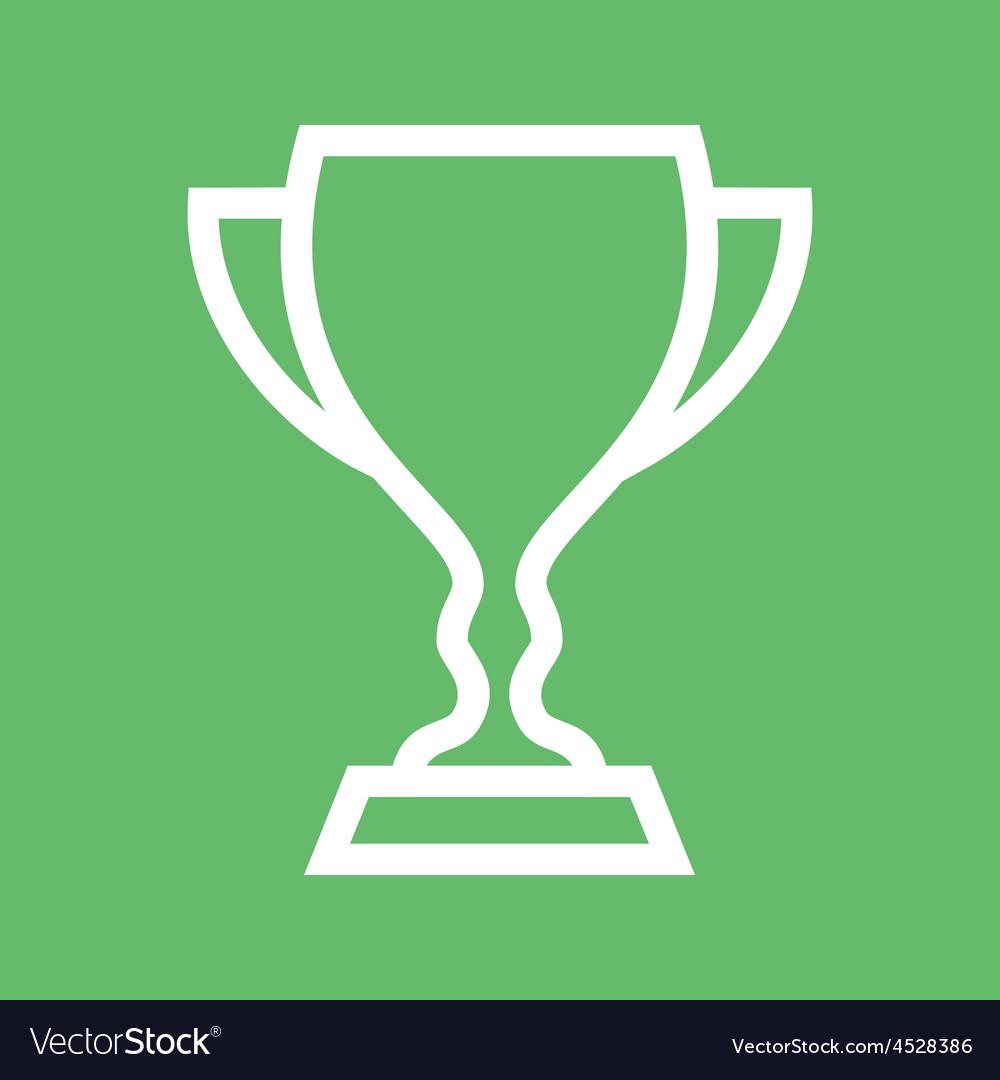 Cup trophy vector | Price: 1 Credit (USD $1)
