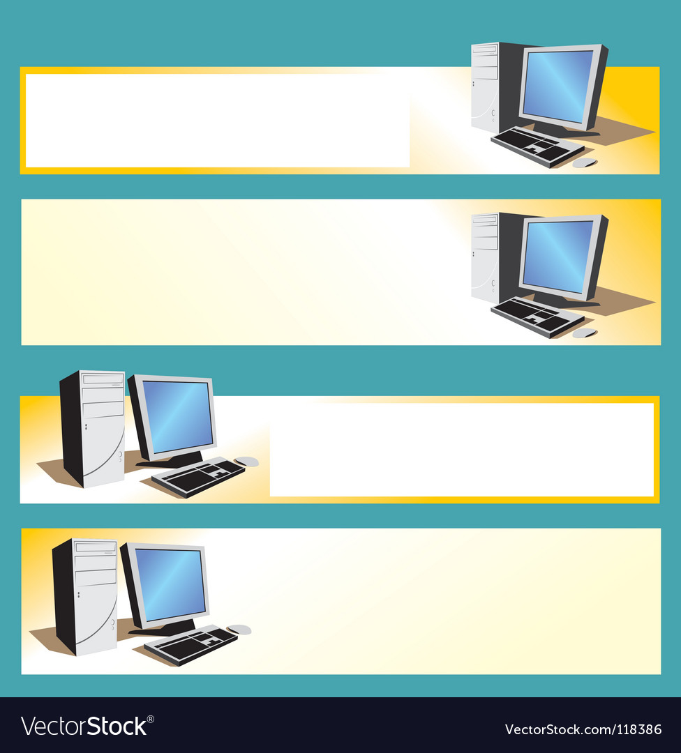 Desktop vector | Price: 1 Credit (USD $1)