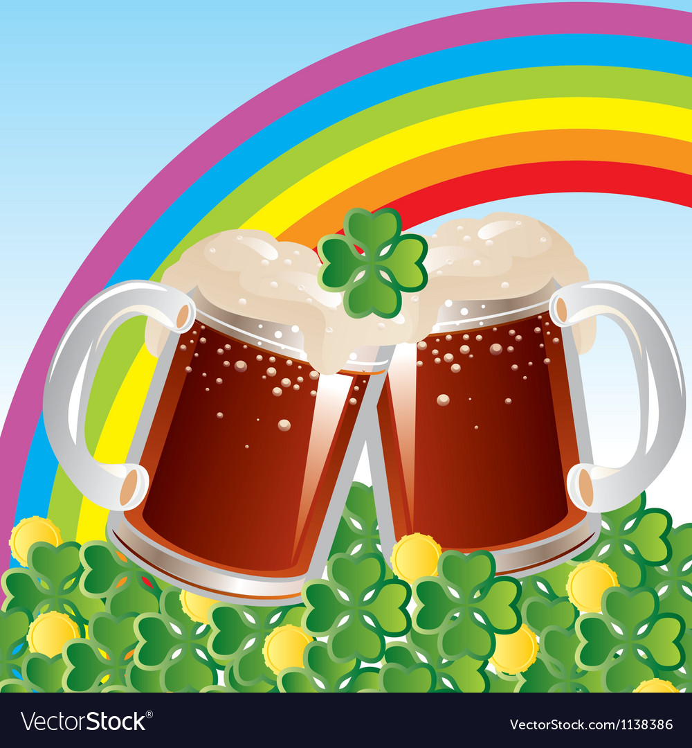 Patricks day celebration vector | Price: 1 Credit (USD $1)