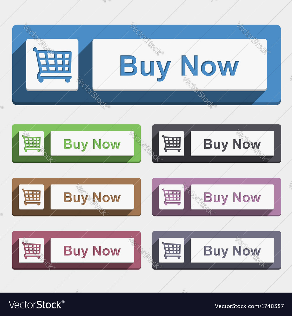 Buy now button vector | Price: 1 Credit (USD $1)