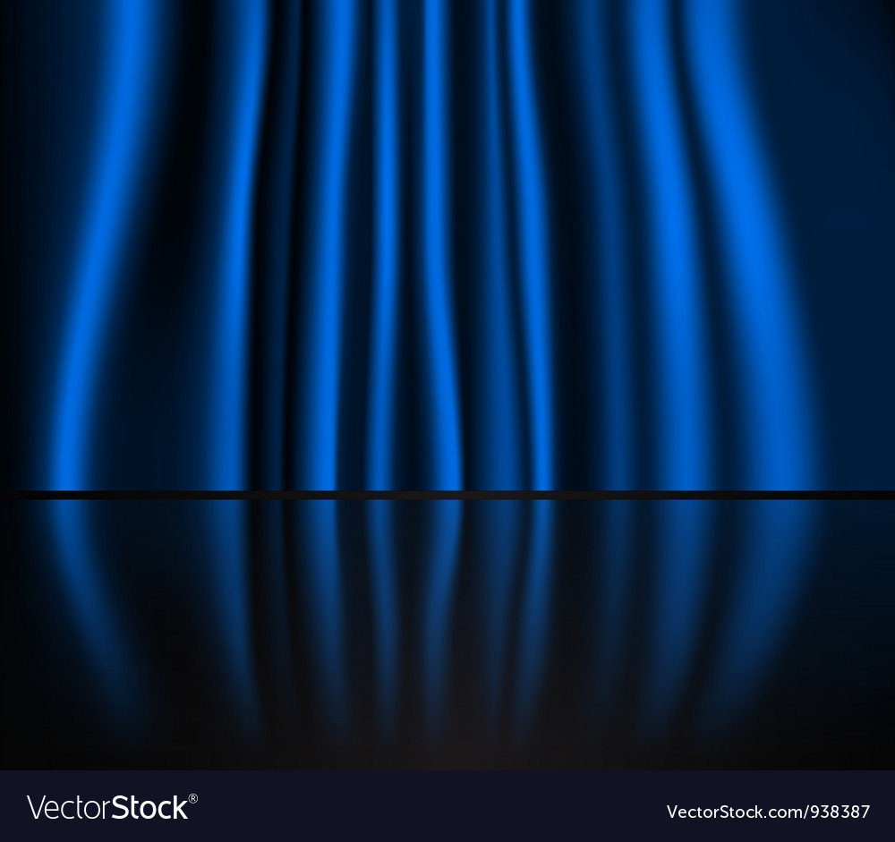 Curtained stage vector | Price: 1 Credit (USD $1)