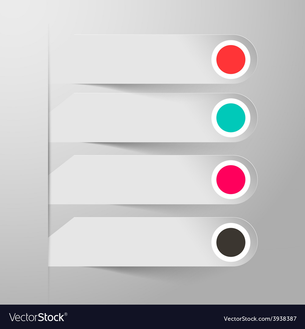 Empty paper labels vector | Price: 1 Credit (USD $1)