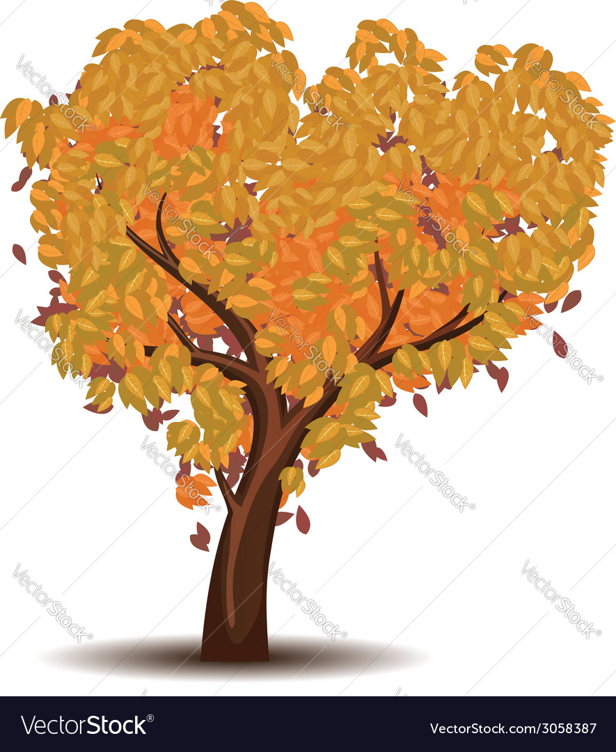 Stylized autumn tree6 vector | Price: 1 Credit (USD $1)