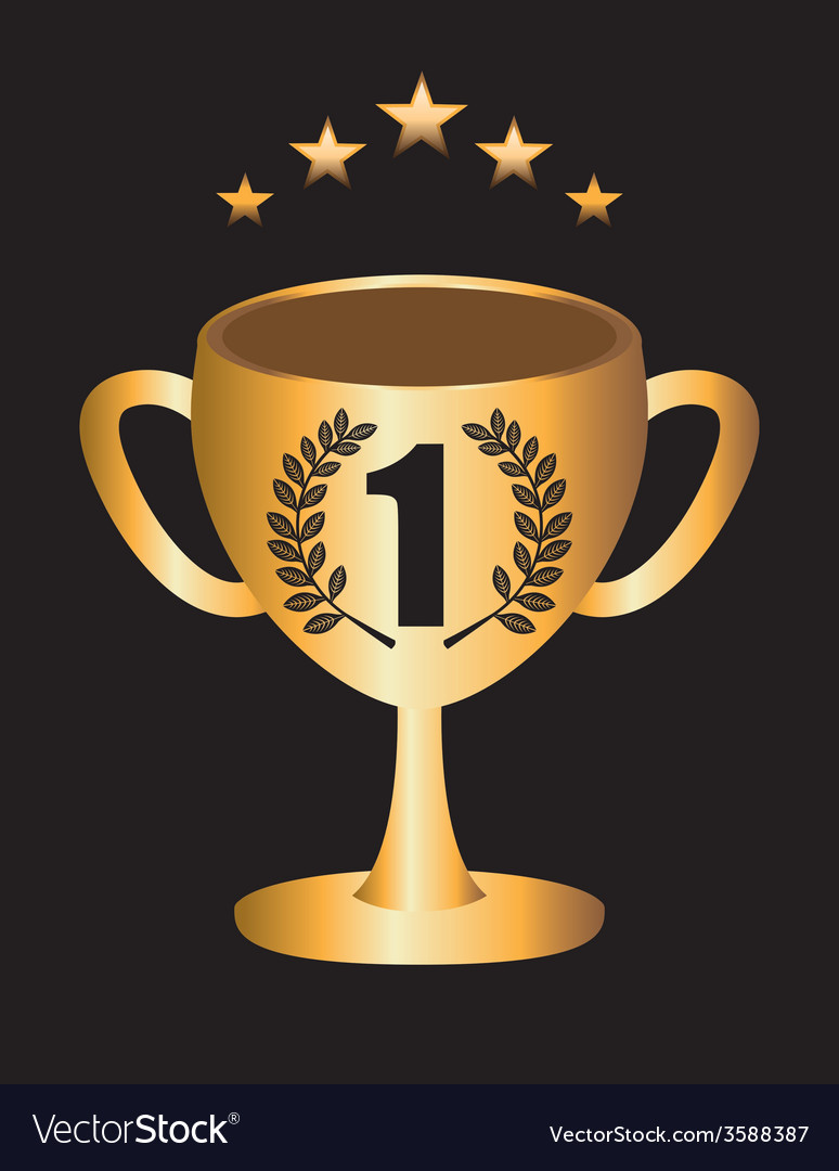 Trophy gold vector   Price: 1 Credit (USD $1)
