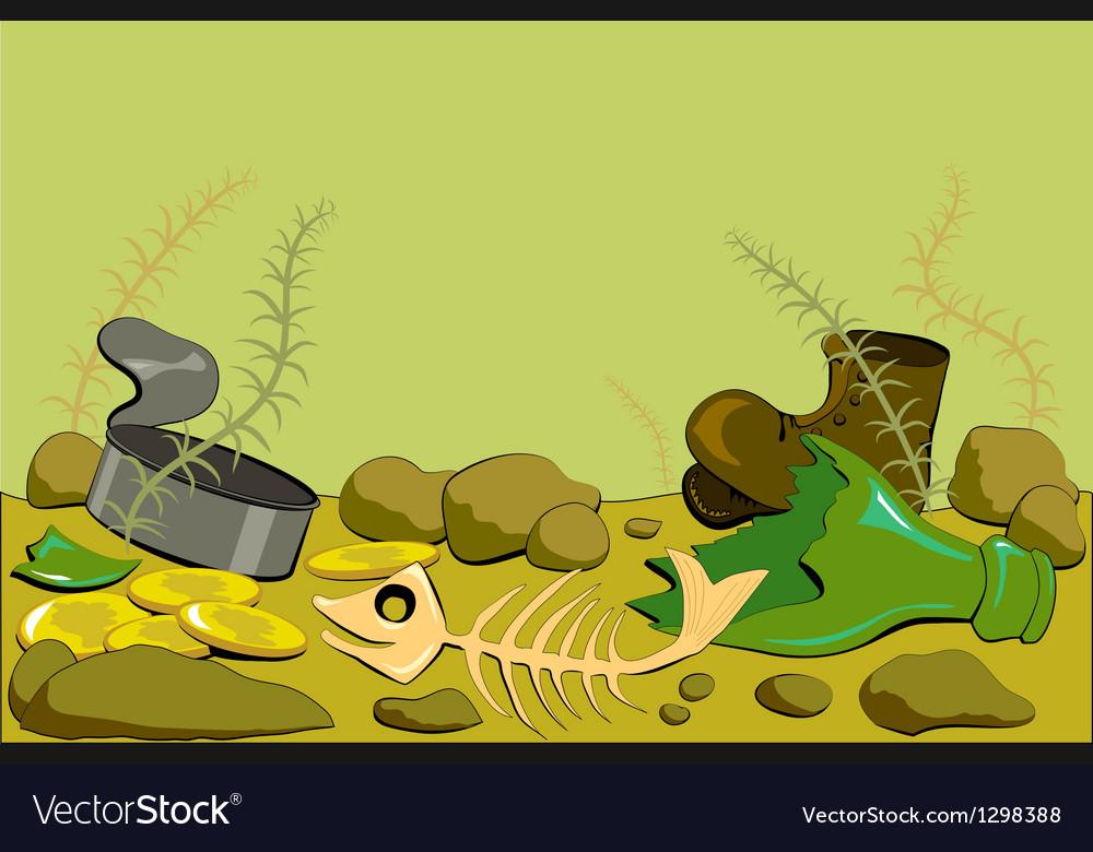 Dirty ocean floor vector   Price: 1 Credit (USD $1)