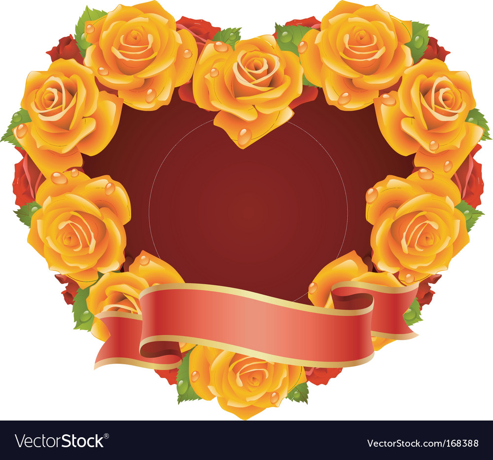 Floral frame vector | Price: 3 Credit (USD $3)
