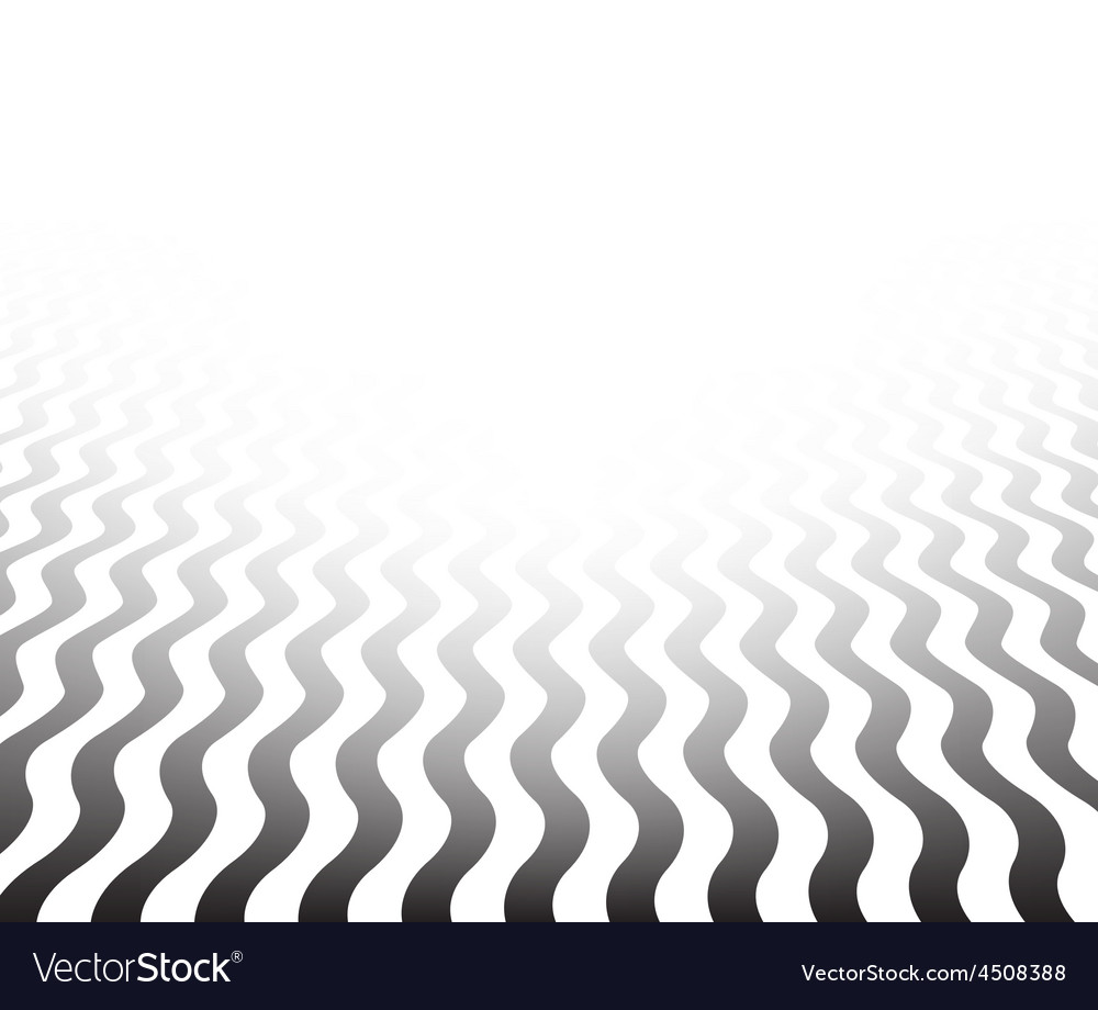 Perspective textured wavy surface vector | Price: 1 Credit (USD $1)