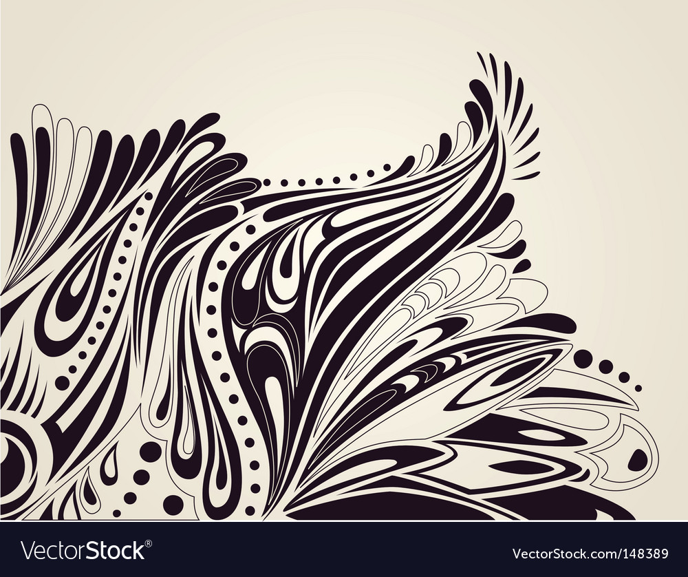 Abstract artistic background vector | Price: 1 Credit (USD $1)
