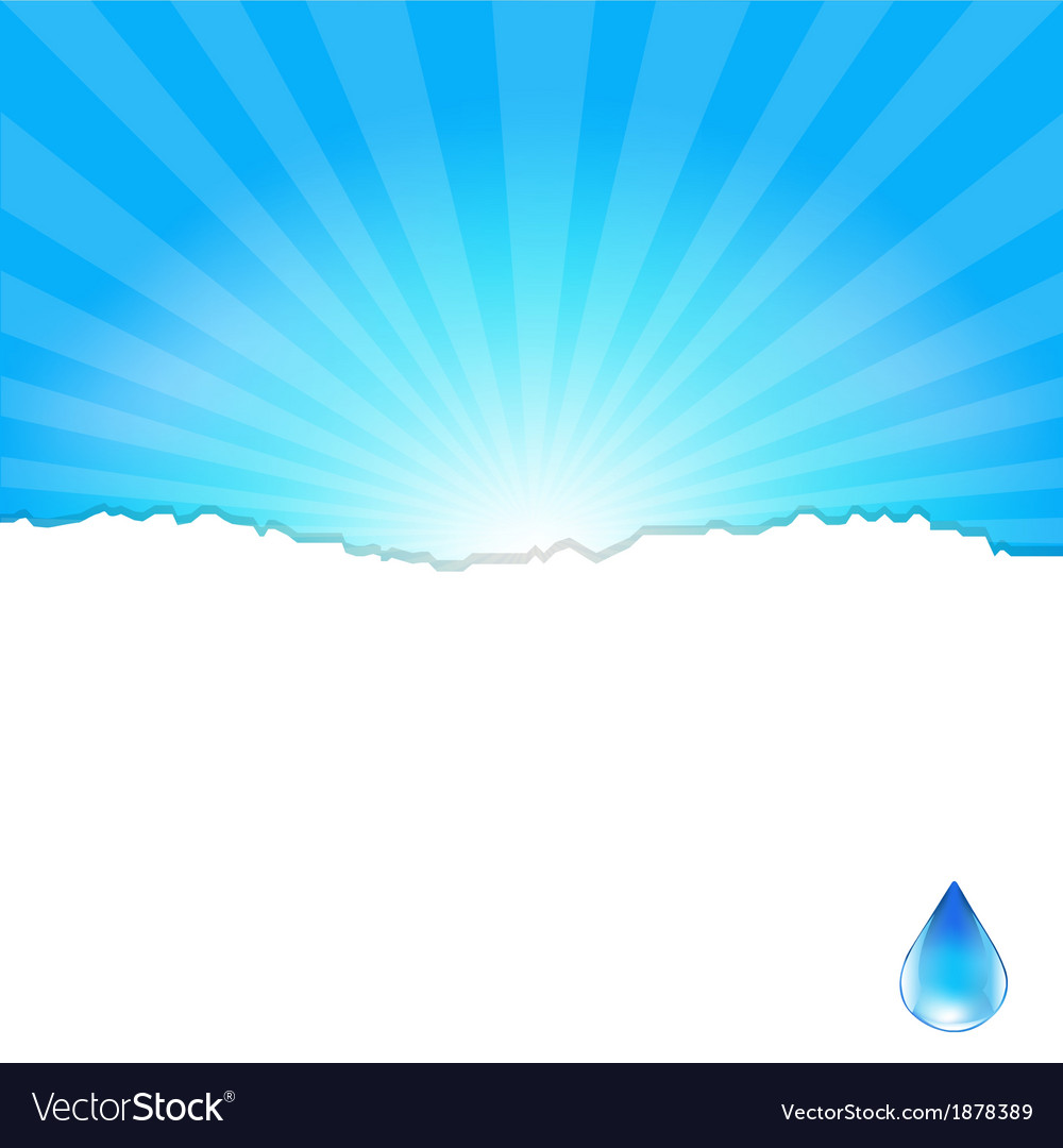 Background with water drop vector | Price: 1 Credit (USD $1)