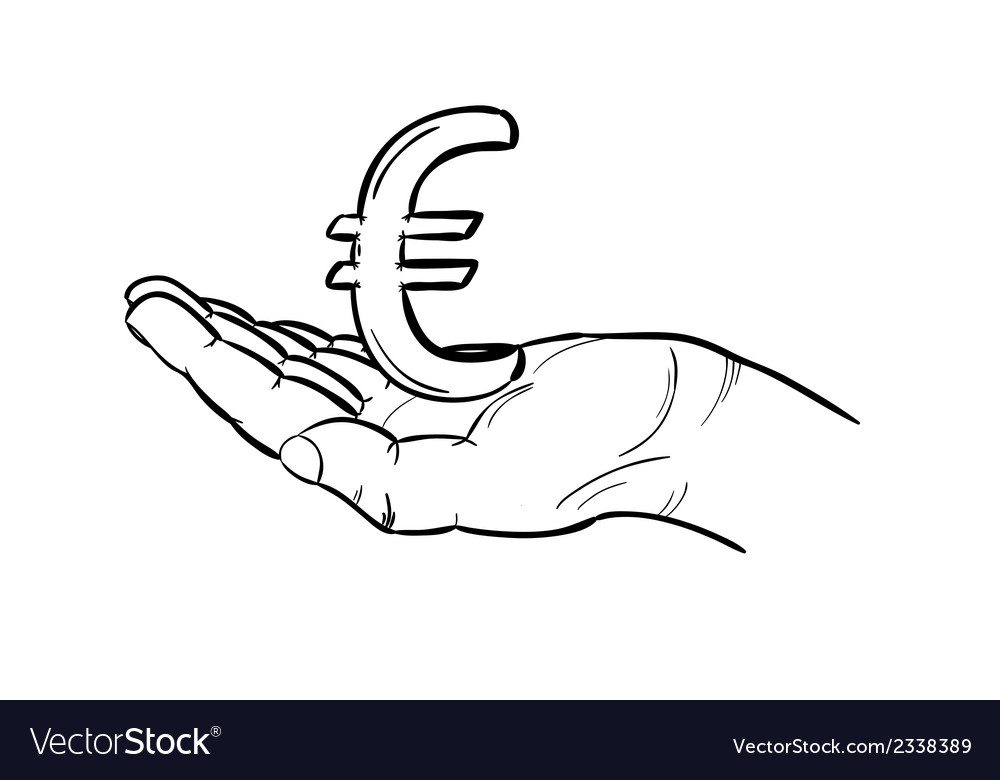 Currency - euro vector | Price: 1 Credit (USD $1)
