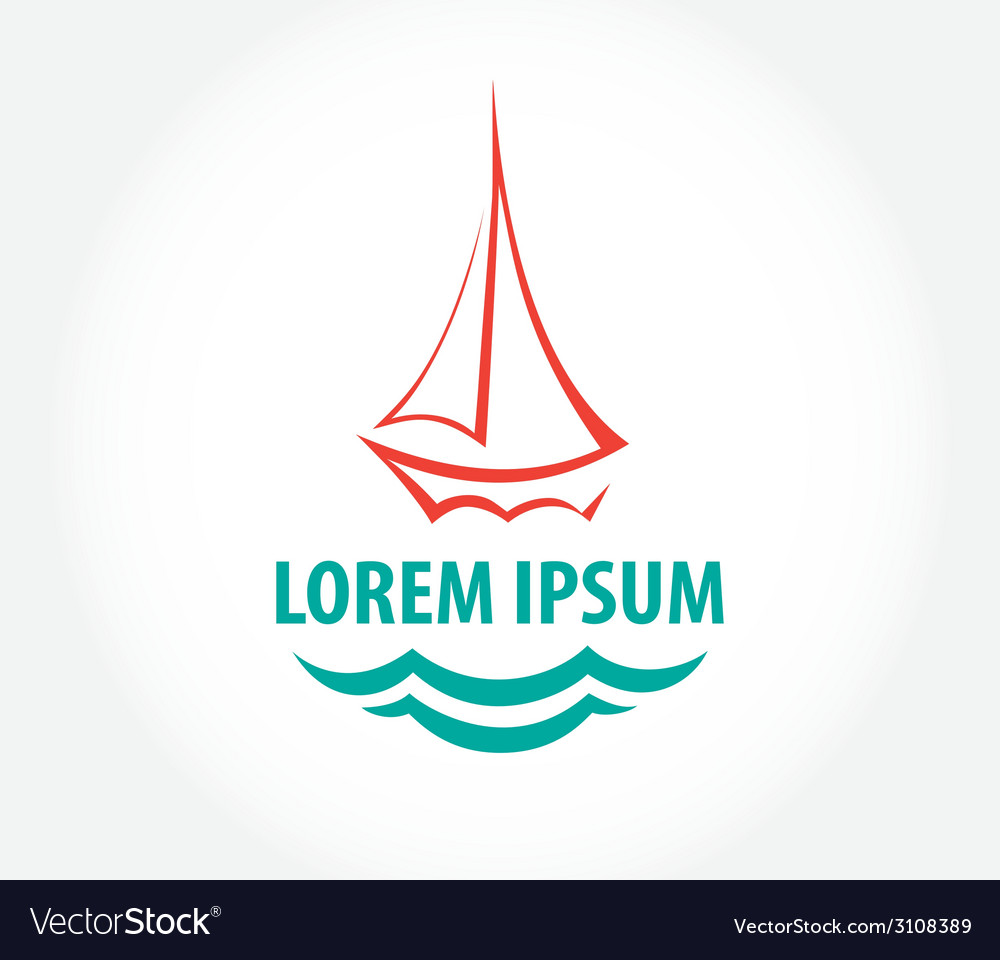 Ship sign corporate logo vector | Price: 1 Credit (USD $1)