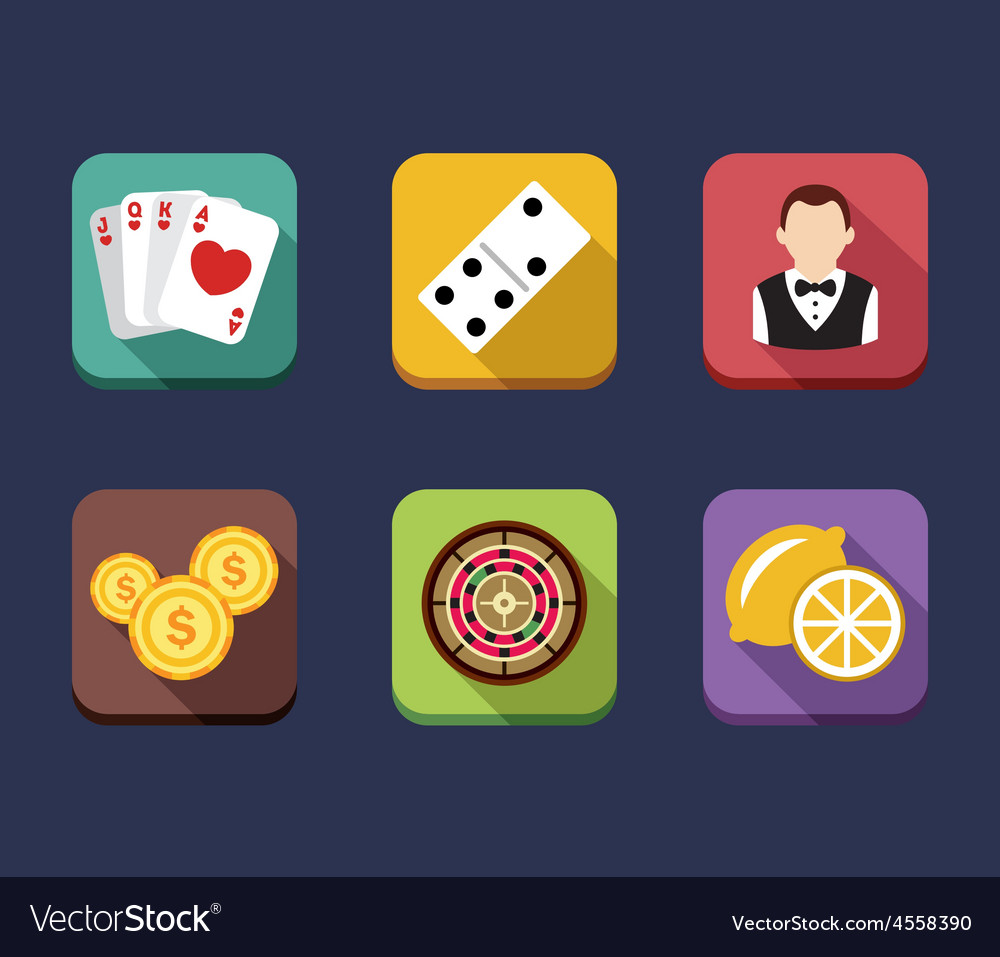 Casino game of fortune gambling roulette slot vector | Price: 1 Credit (USD $1)