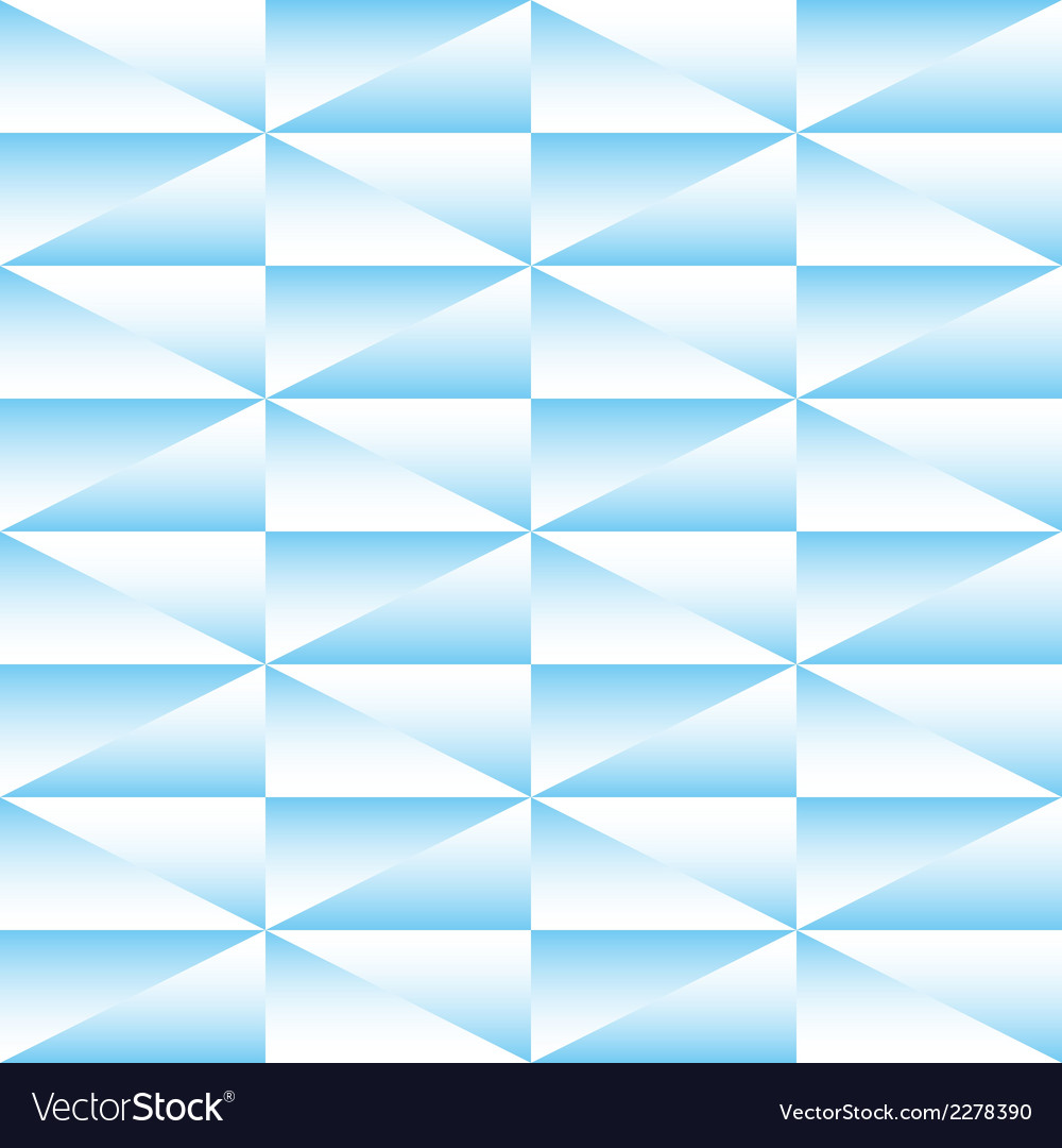 Geometric seamless pattern of triangles vector | Price: 1 Credit (USD $1)
