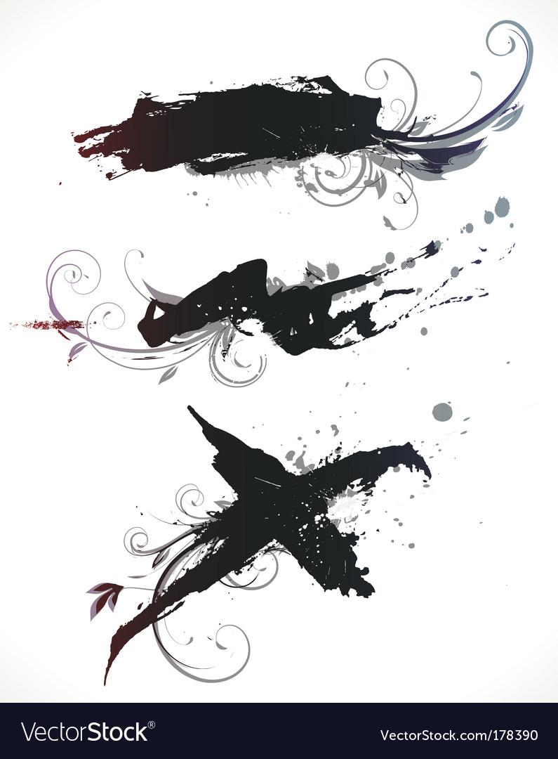 Grunge design elements vector | Price: 1 Credit (USD $1)