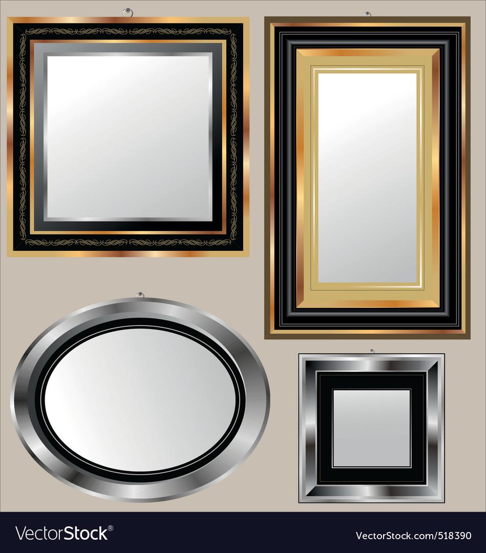 Mirrors vector | Price: 1 Credit (USD $1)