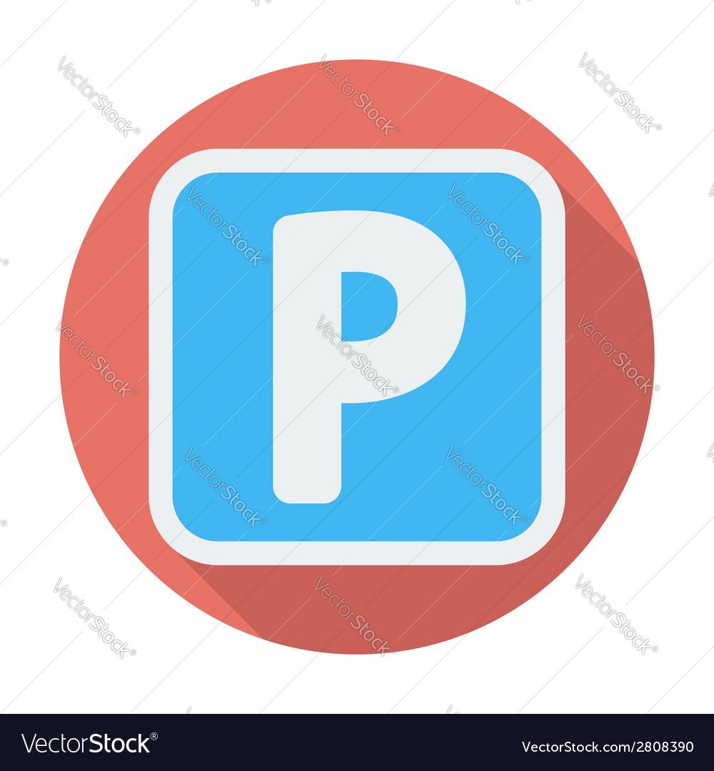 Parking symbol vector | Price: 1 Credit (USD $1)