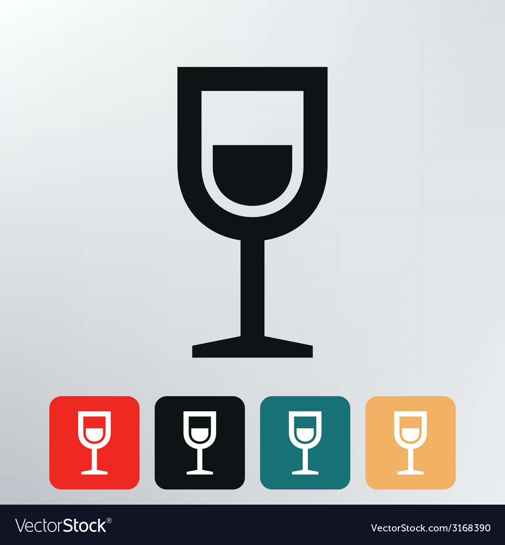 Shot drink icon vector | Price: 1 Credit (USD $1)