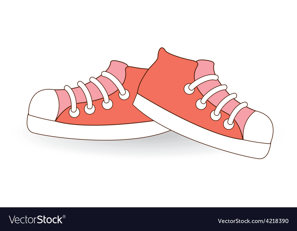Young shoes vector | Price: 1 Credit (USD $1)