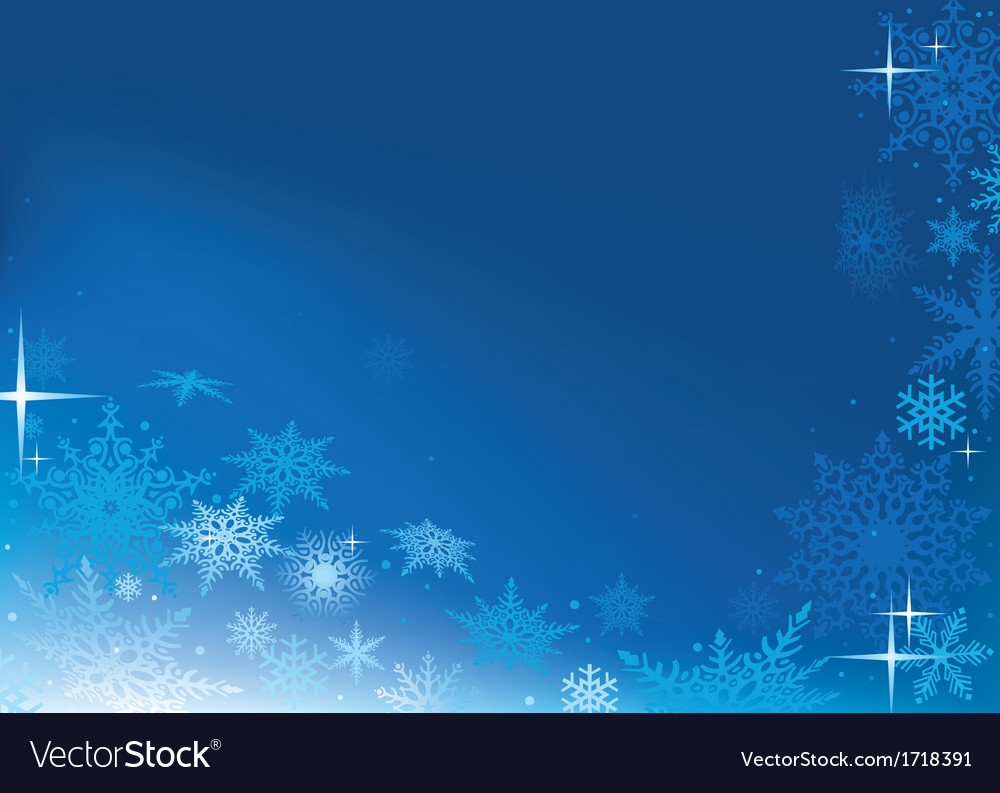 Blue abstract xmas background vector | Price: 1 Credit (USD $1)