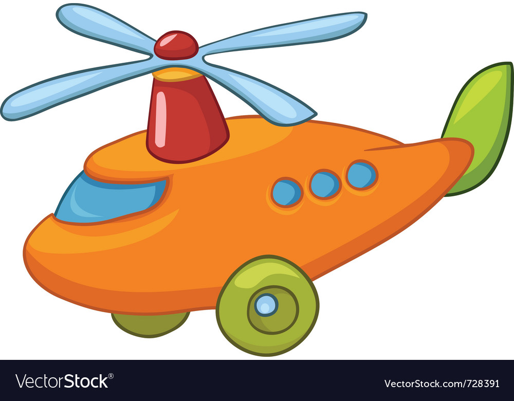 Cartoon helicopter vector   Price: 1 Credit (USD $1)
