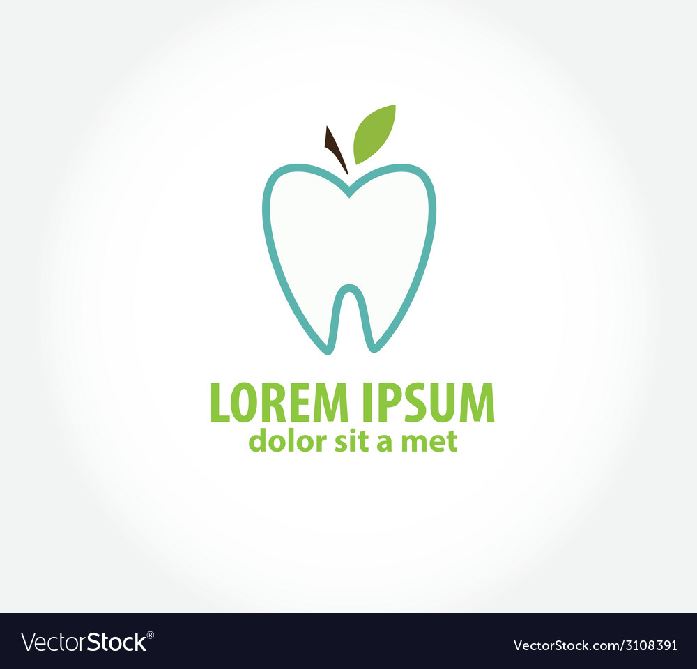 Oral hygiene label - vector | Price: 1 Credit (USD $1)
