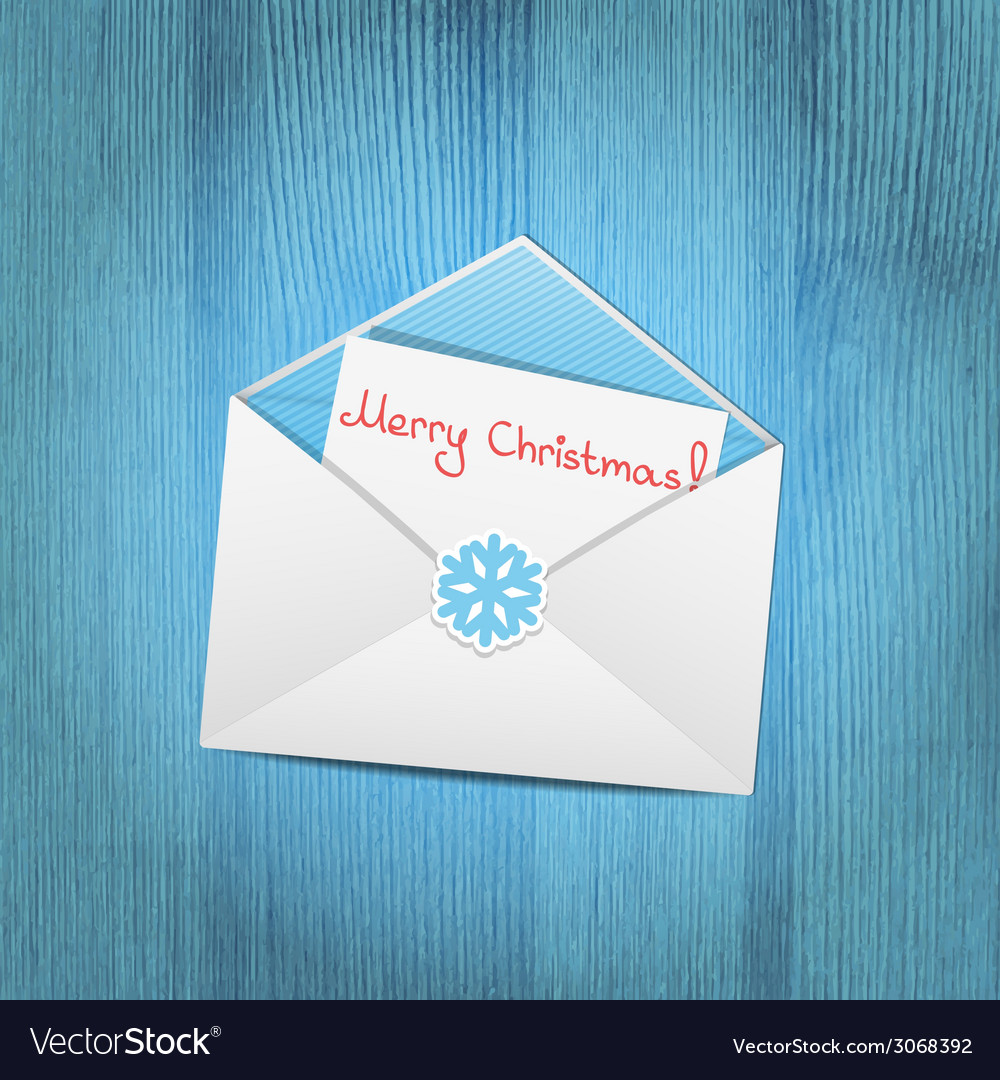 Christmas envelope vector | Price: 1 Credit (USD $1)