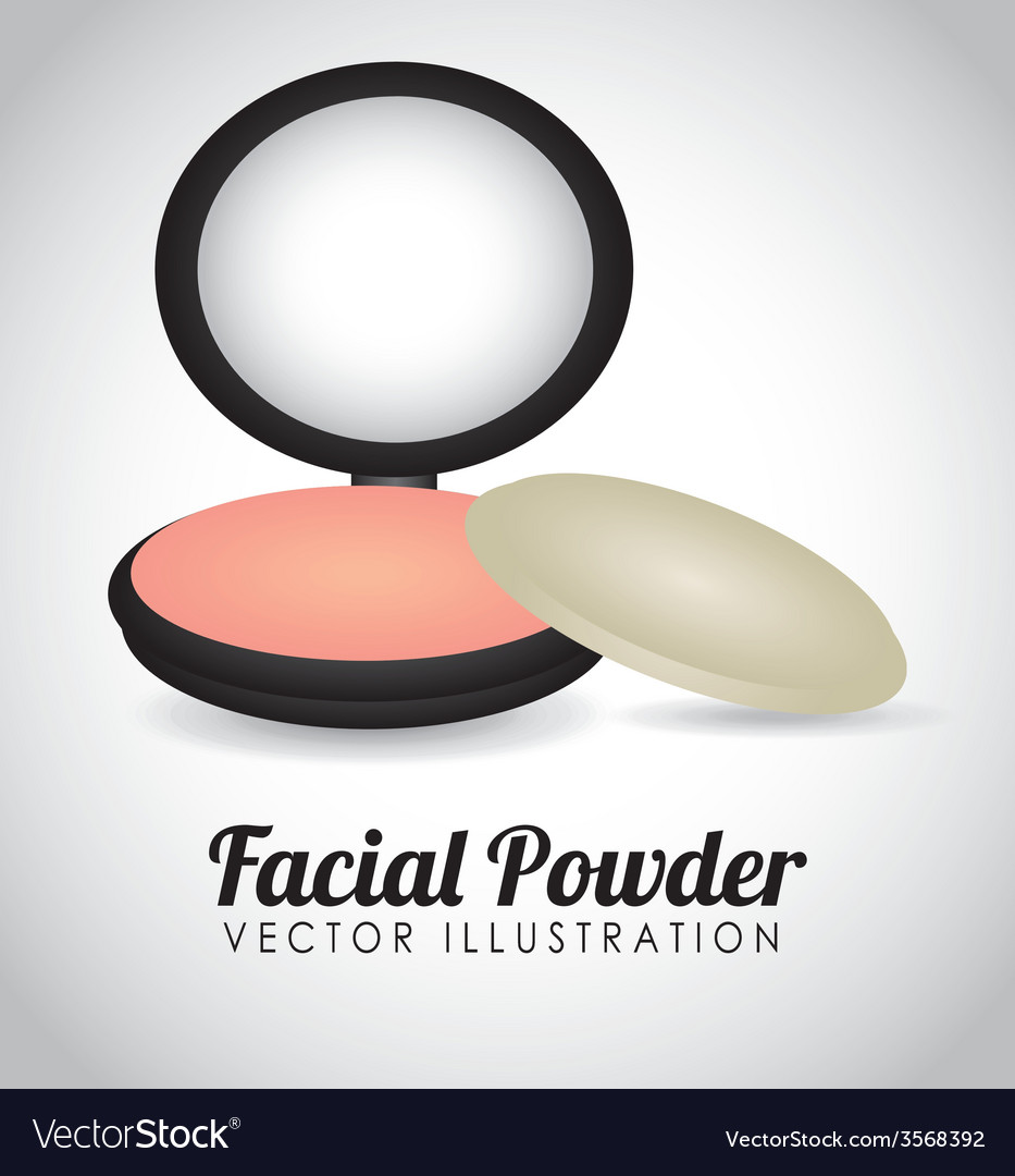 Facial powder vector | Price: 1 Credit (USD $1)