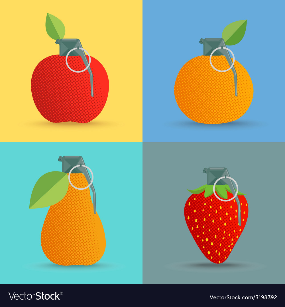Fruitbom vector | Price: 1 Credit (USD $1)