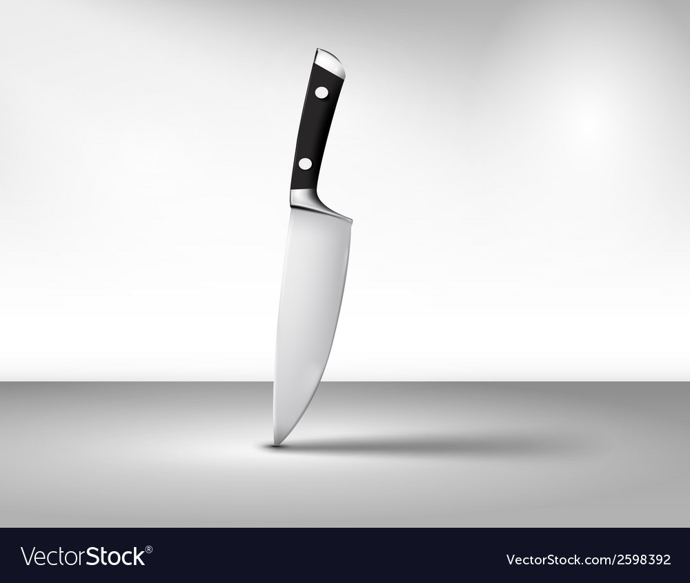 The kitchen knife vector | Price: 1 Credit (USD $1)