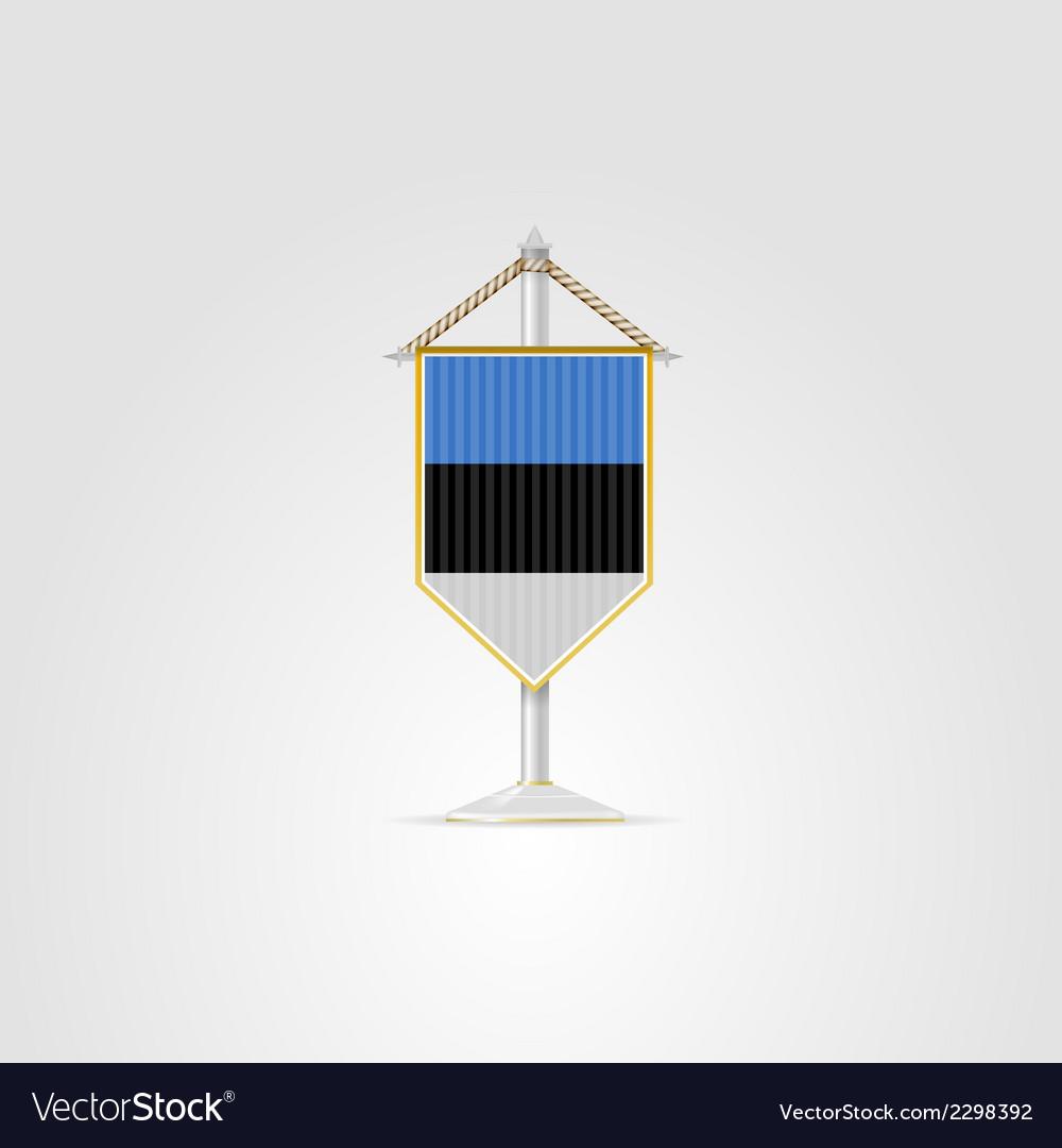 National symbols of european countries estonia vector | Price: 1 Credit (USD $1)