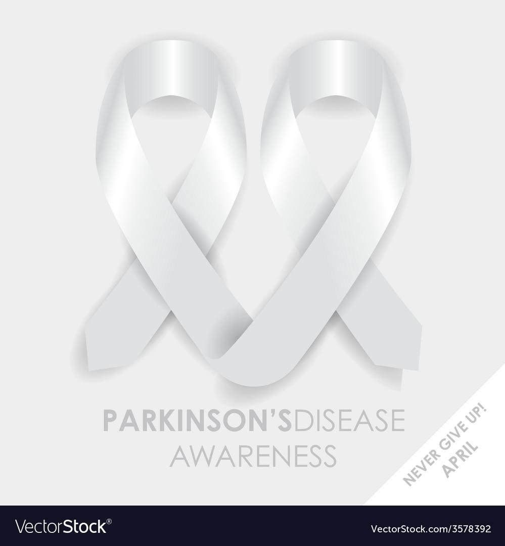 Parkinsons disease ribbon vector | Price: 1 Credit (USD $1)